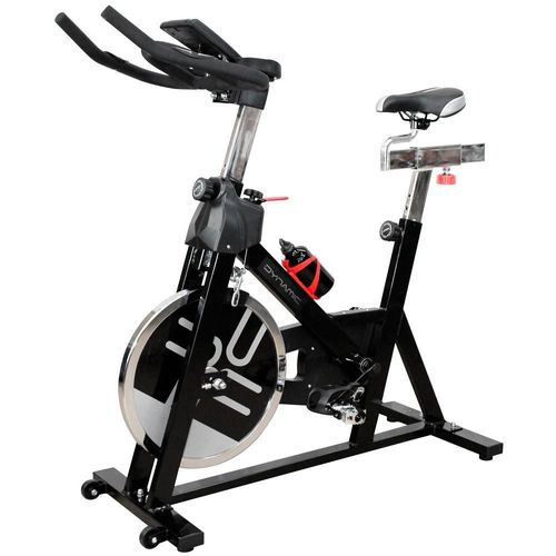Bicicleta Fija Dynamic para Spinning Negro con Rojo BW-DY703