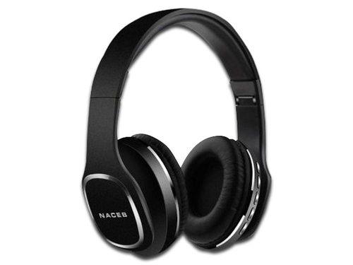 Audífonos tipo diadema NACEB NA-0307N, respuesta de frecuencia 20Hz
