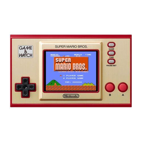 Consola Portatil Game and Watch Super Mario Bros Nintendo