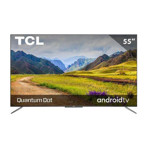 Pantalla QLED TCL 55 Pulgadas 4K Smart TV 55Q637