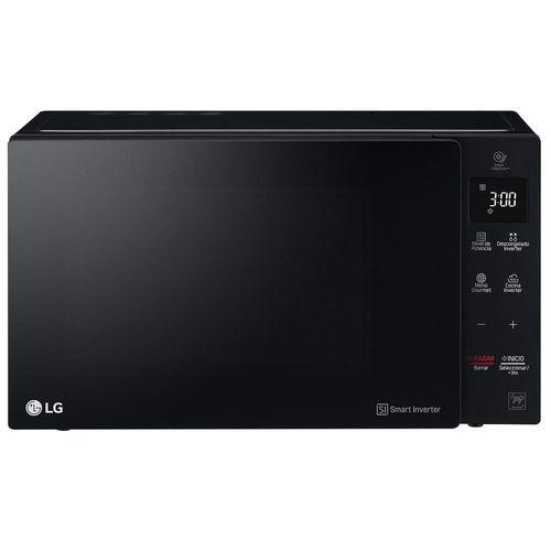 Horno de Microondas LG MS1536GIS 1.5 Pies Cúbicos Negro