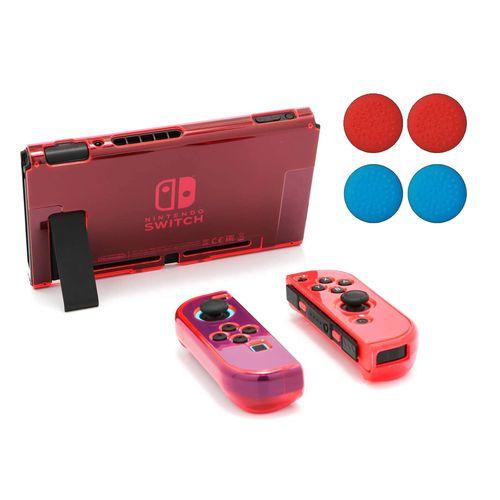 Funda Acrílico Compatible con Nintendo Switch Roja