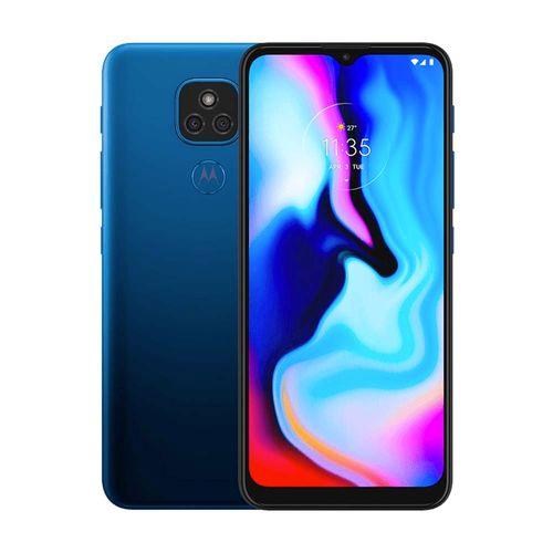 Motorola Moto E7 Plus 64GB Azul Mystic
