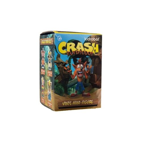 Kidrobot Crash Bandicoot Figura Sorpresa