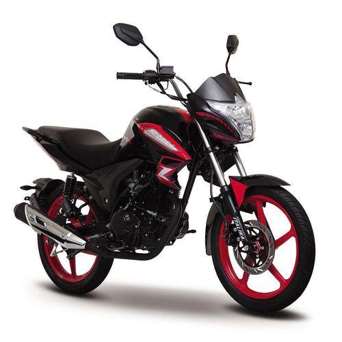 Motocicleta Italika 125Z Roja con Negro