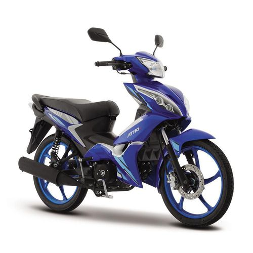 Motocicleta de Trabajo Italika AT110 RT Azul