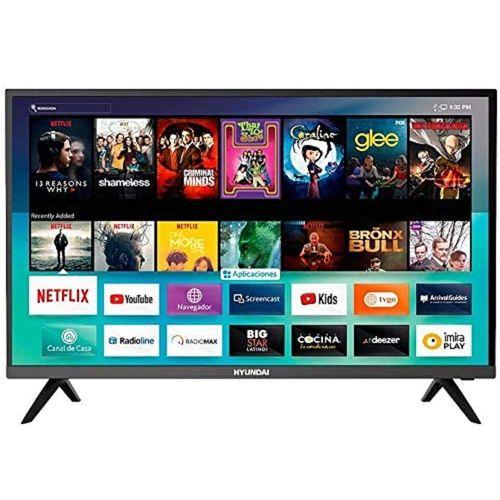Smart TV 32 Hyundai LED HD Linux HDMI USB HYLED3243NIM