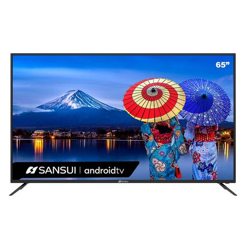Smart TV 65 Sansui LED 4K UHD HDMI USB SMX65E1UAD