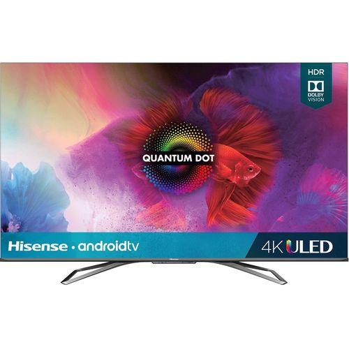 Smart TV 55 Pulg 4K UHD HDR 10 LED Hisense Android TV 55H9G