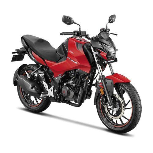Motocicleta Urbana Hero Hunk 160R Roja