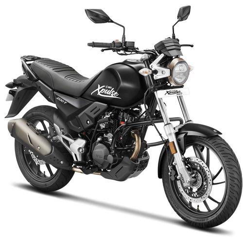 Motocicleta Café Racer Hero Xpulse 200T Negra