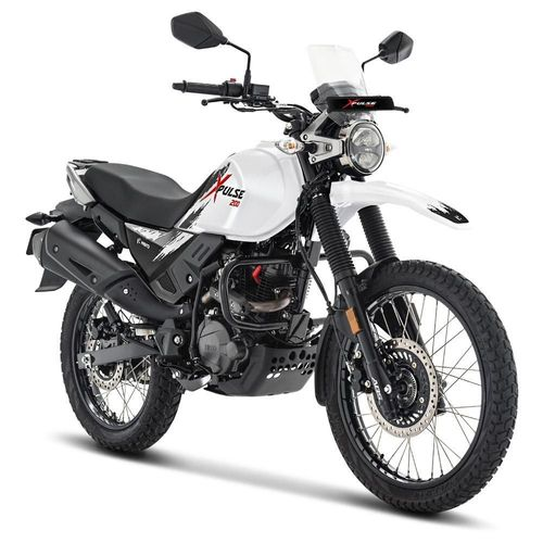 Motocicleta Doble Propósito Hero Xpulse 200 Blanca