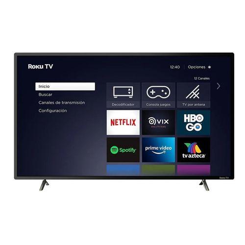Smart TV 32 JVC LED HD HDMI USB Roku TV SI32R