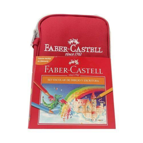 Estuche Escolar De 34 Piezas Faber Castell