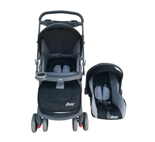 Carriola y auto-asiento DBebe Travel System Star Baby Negra -End_