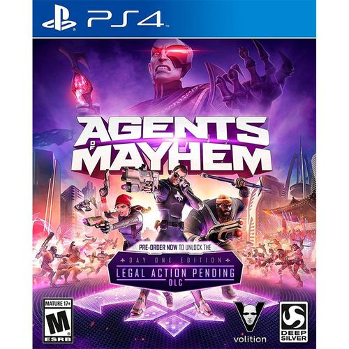 Agents Of Mayhem Day 1 Edition PS4