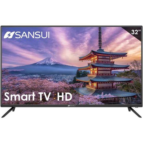 Pantalla Smart TV 32 pulgadas SANSUI DLED HDMI Certificacion Netflix
