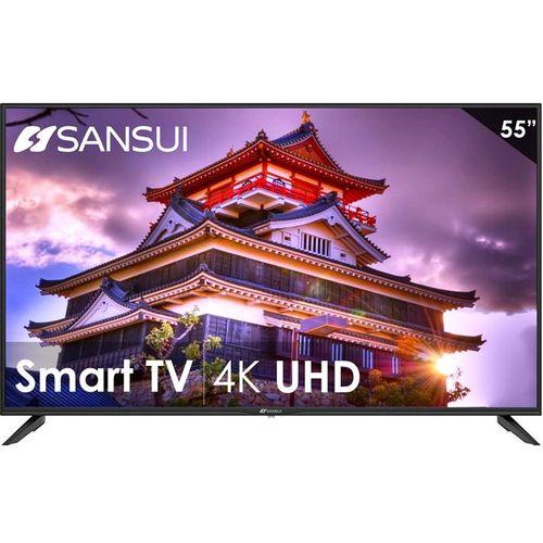Pantalla Smart TV 55 pulgadas SANSUI DLED Ultra HD 4k HDR SMX55F3UAD