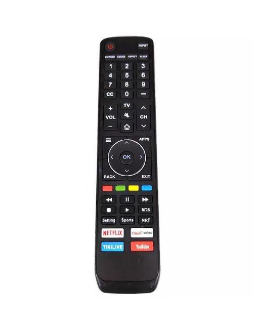 Control Remoto para pantalla Hisense Smart Tv 4k En3v39h
