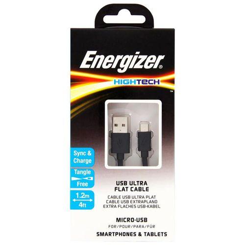 Energizer Cable Hightech Carga Micro USB - Negro