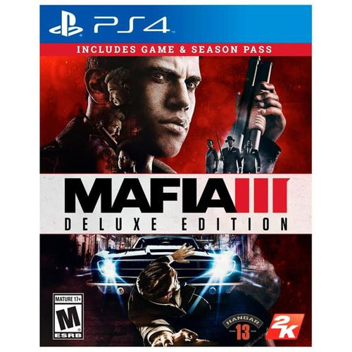Mafia III Deluxe Edition PS4