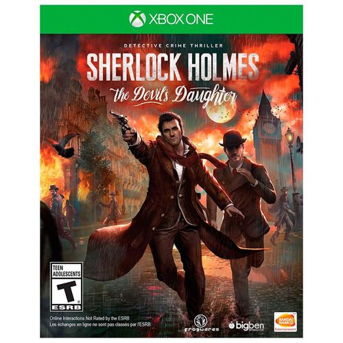 Sherlock Holmes Devil's Daughter Xbox One