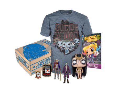 DC Suicide Squad Kit Coleccionable Mediano