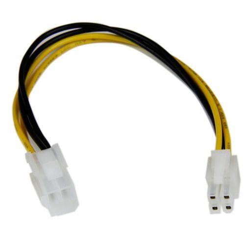 StarTech Cable ATX Macho a Hembra 4 Pines