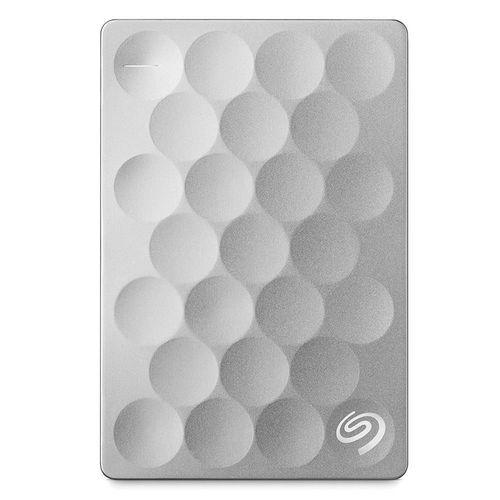 Disco Duro portátil Seagate Ultra Slim 1 TB - Plateado