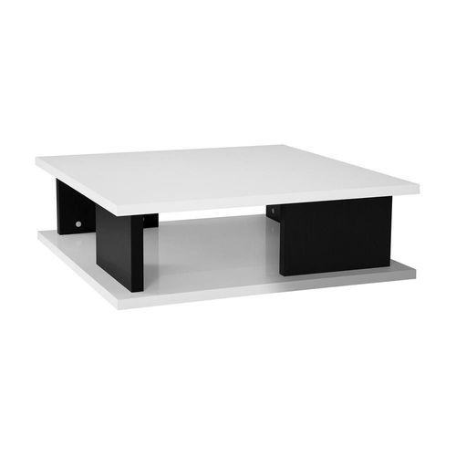 Mesa de Centro Sylku Blanco con Negro
