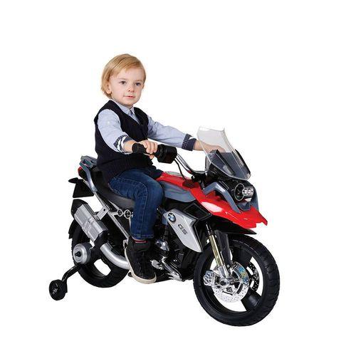 Montable Eléctrico Moto BMW Prinsel 1200 Negro con Rojo