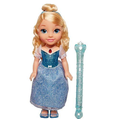 Muñeca Interactiva Cenicienta con Varita Mágica 16 Pulgadas Disney