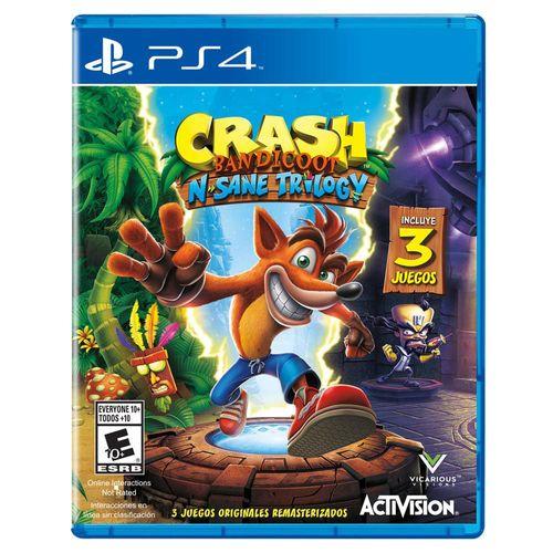 PlayStation Crash Bandicoot N Sane Trilogy PS4