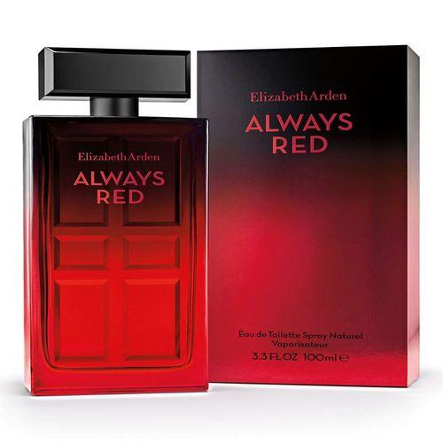 Fragancia para Dama Elizabeth Arden Always Red Eau de Toilette 100ml