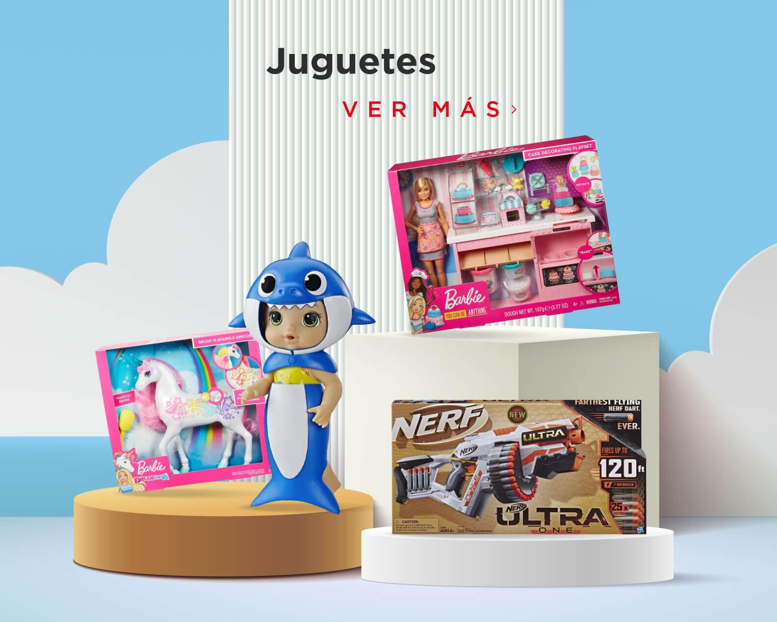 Los mejores jueguetes y muñecas para niñas y niños, diversión sin límite al mejor precio.