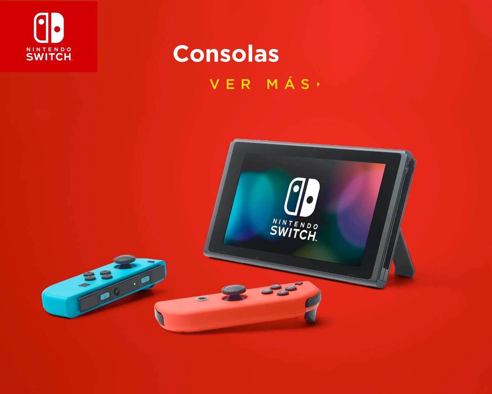 Nintendo Switch, consolas de videojuegos, precios y modelos en línea