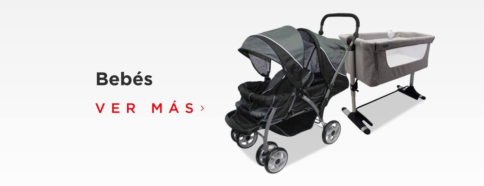 Increíbles productos para tu bebé, variedad de carriolas, cunas, artículos de cuidado y monitoreo para bebés.